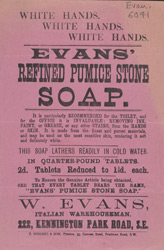 Advert For Evan's Refined Pumice Stone